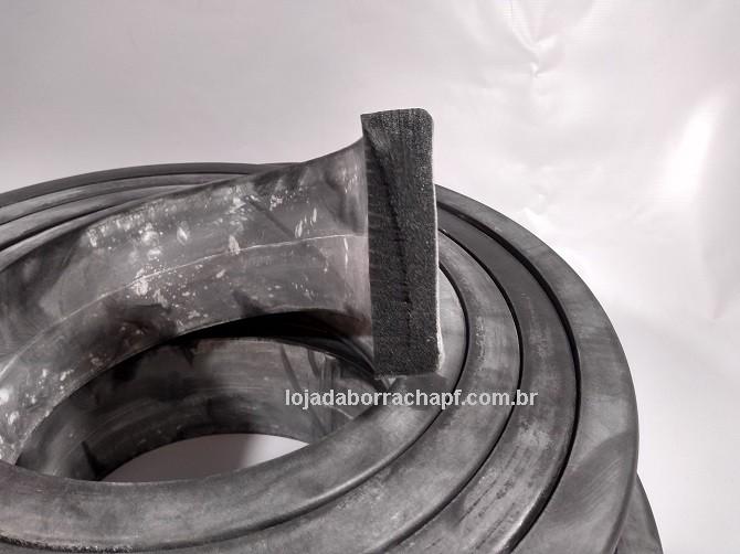 N77 Borracha esponjosa 100x25mm