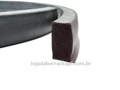 N109 Borracha esponjosa 50x25mm