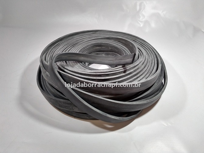 N67 Borracha esponjosa 25x5,5mm