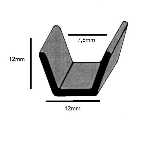 N22 Canaleta nylon-alta (metro)
