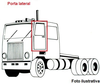 Borr. porta Mercedes FPN 1714 914 1618 2423 2428 1215 Cara chata
