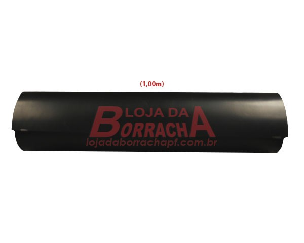 R34 Lençol de borracha (SBR) 3,0mm x 1,00 metro (com 1 lona)