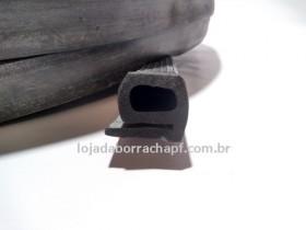N233 Borracha esponjosa vedação furgão câmara frias aba curta