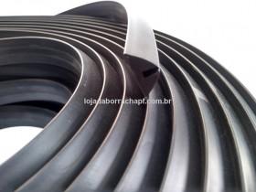 N201 Borracha formas pré moldados 23,5x10,5x3,5mm (50 metros)