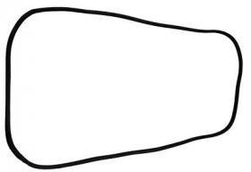 Borr. porta traseira (mala) Sprinter 98/09 teto alto