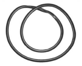 Borr. vidro lateral (s/lado fixo s/friso) Brasilia 73/82 STD