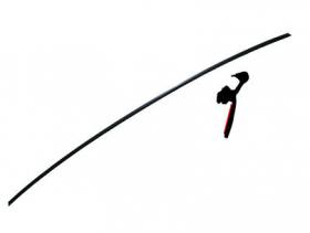 Borr. perfil parabrisa (perfil inf. pvc) Gol G5 08/12