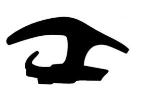Borr. parabrisa superior Renault Logan 07/13
