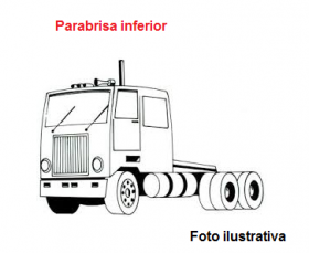 Borr. parabrisa superior/lateral/inferior Cargo 13/17