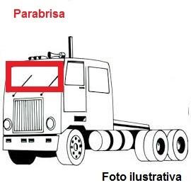 Borr. parabrisa Mercedes 1634 1938 2638 LS 98/11