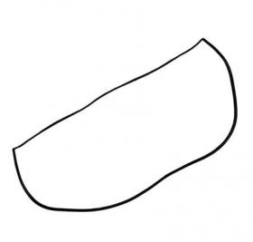 Borr. parabrisa Kadett 89/98 Ipanema 89/97