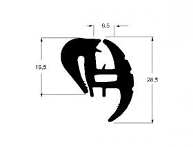 Borr. parabrisa Tempra 91/99