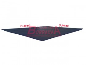 Placa EVA 10mm 1,00x1,40m (preto)