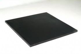 "Placa de borracha Vulk liso 1000X1000x38,10mm (1 1/2"")"