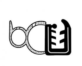 Borr. porta Mercedes 709 710 912 1118 1214 1418 1714 1718 91/...