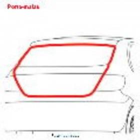 Borr. porta mala Clio 00/05, Megane 98/05 Fiesta Hatch Sedan 03/13