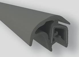 Borr. porta Onix Prisma Cobalt (serve diant ou tras) Spin (só na PT traseira)