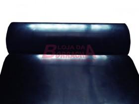 R27 Lençol de borracha industrial (EPDM) 3,0mm x 1,00 metro (sem lona)