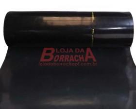 R14 Lençol de borracha (Nitrílico)Comercial 3,0mm x 1,00 metro (sem lona)