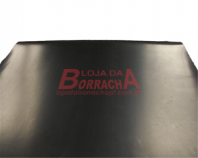 R28 Lençol de borracha (SBR) 2,0mm x 1,00 metro (sem lona)