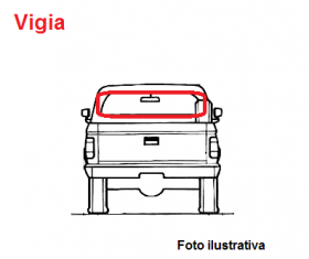 Borr. vigia Iveco Daily pick-up cabine curta 97/...