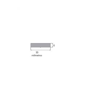 Fita EVA 30x6mm c/adesivo (rolo c/ 5m)