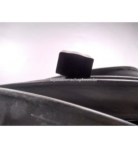 N73 Borracha esponjosa 40x25 mm