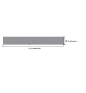 N68 Borracha esponjosa 100X12,5mm