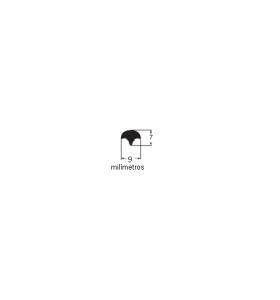 N58 Borracha tipo cunha (grande) macarrão